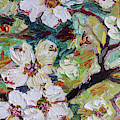 Dogwood Blossoms Oil Painting  by Ginette Callaway