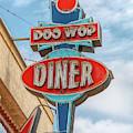Doo Wop Diner Wildwood by Kristia Adams