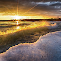 Door County Sunset by Brad Bellisle