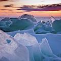 Door County, Wisconsin Sunset by Sam Antonio Photography