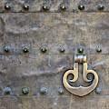 Door Detail Cordoba Spain by Joan Carroll