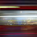 Double Decker Bus Blur 2 by Michael Gerbino