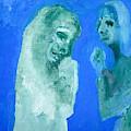 Double Portrait On Blue Sky by Edgeworth DotBlog