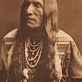 Double Runner  Piegan By Edward Sheriff Curtis by Celestial Images