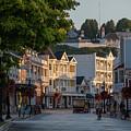 Downtown Mackinac Morning by Dan Friend