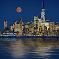 Downtown Nyc Skyline  by Susan Candelario