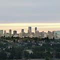 Downtown Sunset by Juan Contreras