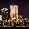 Downtown Tampa Skyline by Joe Leone