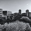 Downtown Tucson Black And White by Chance Kafka