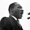Dr. King Speaks At Anti-war Rally by Fred W. Mcdarrah