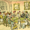 Dr Syntax At A Card Party by Thomas Rowlandson