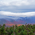 Dramatic Clouds From Alonguin Peak Autumn Mountains by Toby McGuire