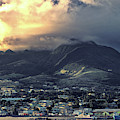 Dramatic Sky Over Basseterre, St. Kitts Island by Bill Swartwout Photography
