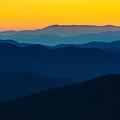 Dramatic Sunrise At Great Smokey by Zack Frank
