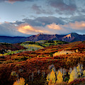 Dramatic Sunrise In The San Juan Mountains Of Colorado by Teri Virbickis