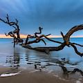 Dreamy Tide Panorama by Debra and Dave Vanderlaan