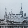 Dresden Cathedral- Dresden by Mohammad Hayssam Kattaa