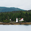 Dryad Point Lighthouse II by Yulia Kazansky