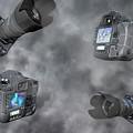 Dslr Cameras by Betsy Knapp