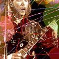 Duane Allman by David Lloyd Glover