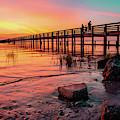 Dunedin Pier by Ashleena Valene Taylor