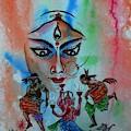 Devi Durga-3 by Tamal Sen Sharma