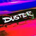 Duster Logo Mod Poster Art by Jenny Revitz Soper