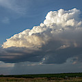 Dying Thunderstorms At Sunset 006 by NebraskaSC