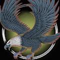 Eagle Illustration  by Gull G