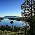 Early Morning Emerald Bay by Lynn Hopwood
