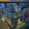Early Morning In The Old Port by Rick Berk