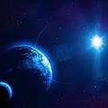 Earth, Moon And Sun by Da-kuk