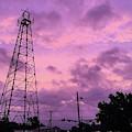 East Texas Oil Derrick by Jason Cave