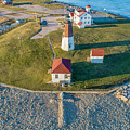 Easter At Point Judith  by Michael Hughes