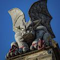 Eastern State Gargoyle by Lora J Wilson