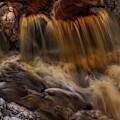 Eau Claire Dells Three Little Falls by Dale Kauzlaric