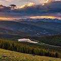 Echo Lake Sunset by Darren White