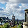 Edinburgh Castle From Calton Hill by Gerry Greer