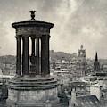 Edinburgh From Calton Hill I by Dave Bowman