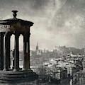Edinburgh From Calton Hill II by Dave Bowman