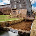 Edwards Mill At College Of The Ozarks - Point Lookout Missouri by Gregory Ballos