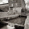 Edwards Mill At College Of The Ozarks - Sepia Edition by Gregory Ballos
