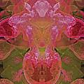 Efflorescence In Red Tones Faa by Lynda Lehmann