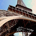 Eiffel Tower And Bird by Chance Kafka