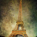 Eiffel Tower Vintage by Jemmy Archer