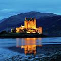 Eilean Donan Reflections by Nicholas Blackwell