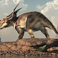 Einiosaurus by Daniel Eskridge
