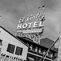El Cortez Hotel Monochrome Daytime by SR Green