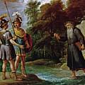 El Mago Descubre A Carlos Y Ubaldo El Paradero De Reinaldo  by Teniers  David