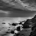 El Matador Beach - B W by Gene Parks